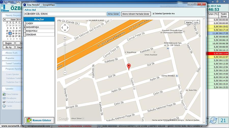 sucumarik - google map harita